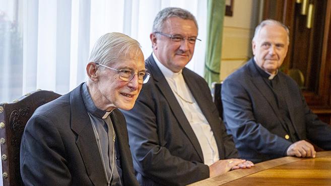 Sopronban járt Magyarország apostoli nunciusa