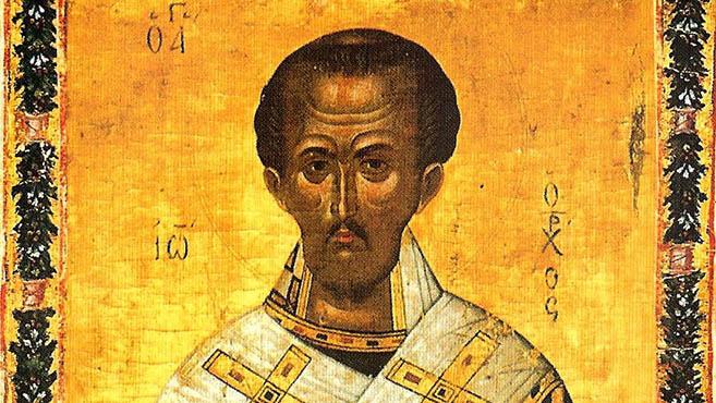 A hét szentje Aranyszájú Szent János