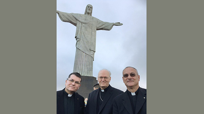 Erdő Péter bíboros, prímás Brazíliában