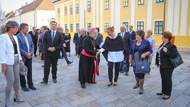 Polgármesterek miséje Kalocsán