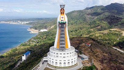 Készül a világ legnagyobb Mária-szobra