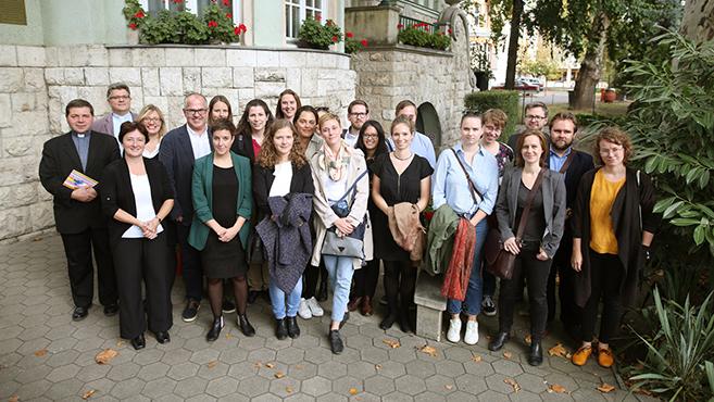 Német újságírókkal találkozott a püspöki konferencia titkára
