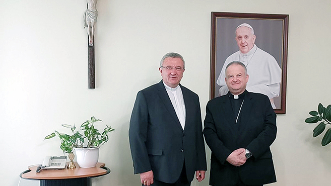 Győrbe látogatott Pintér Gábor belaruszi apostoli nuncius