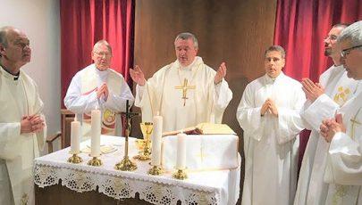 Új kápolna a győri megyei kórházban