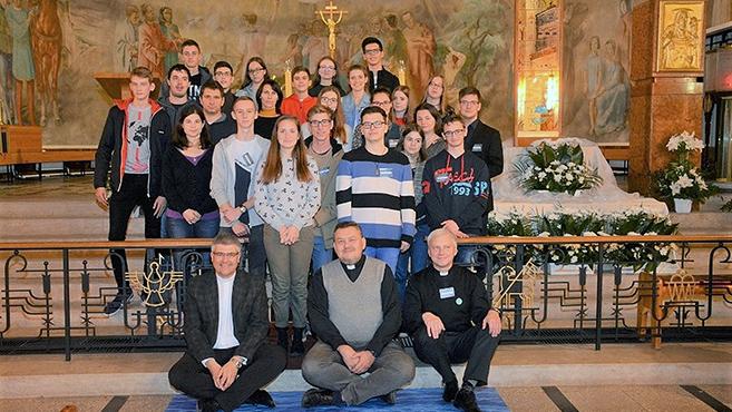 Katolikus ifjúsági találkozó Győrben